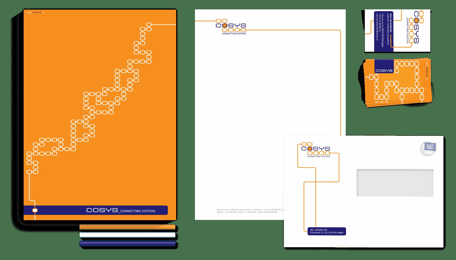 Logo en huisstijlontwerp Cosys