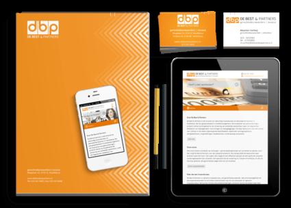 een totaal nieuwe visuele identiteit en een responsive website voor De Best en Partners