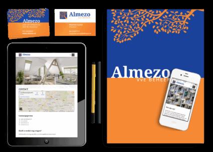 een totale nieuwe huisstijl en een responsive WordPress website voor Almezo