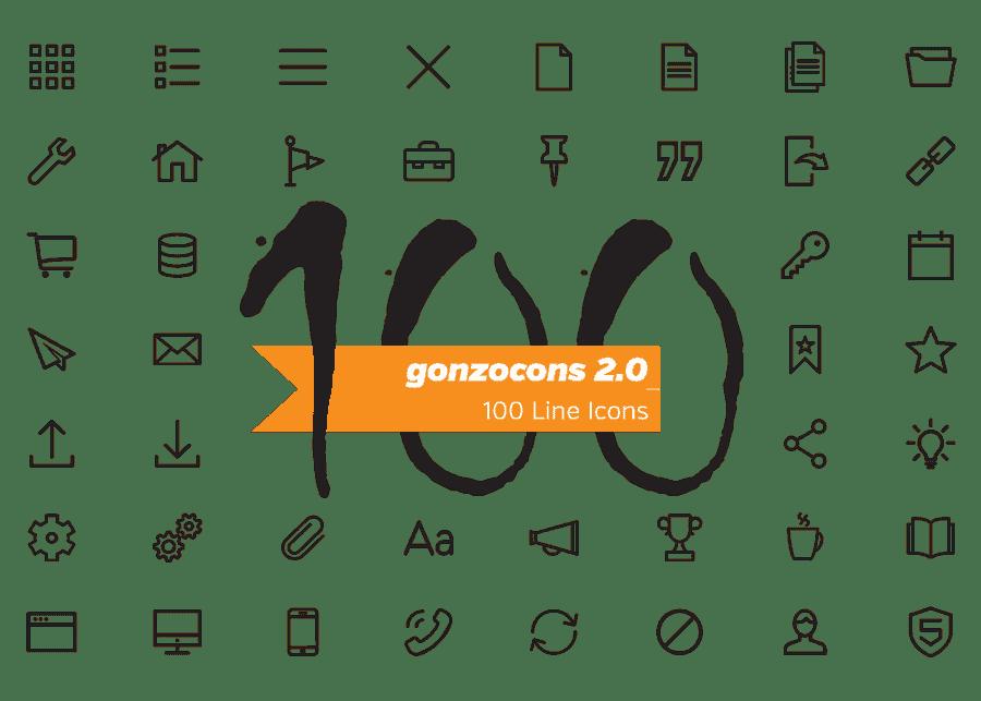 presentatie afbeelding voor mijn zelf-ontworpen gonzocons 2.0