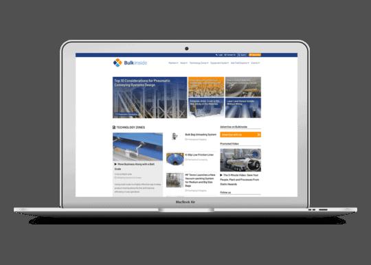 Responsive WordPress theme voor Groundsailer Media