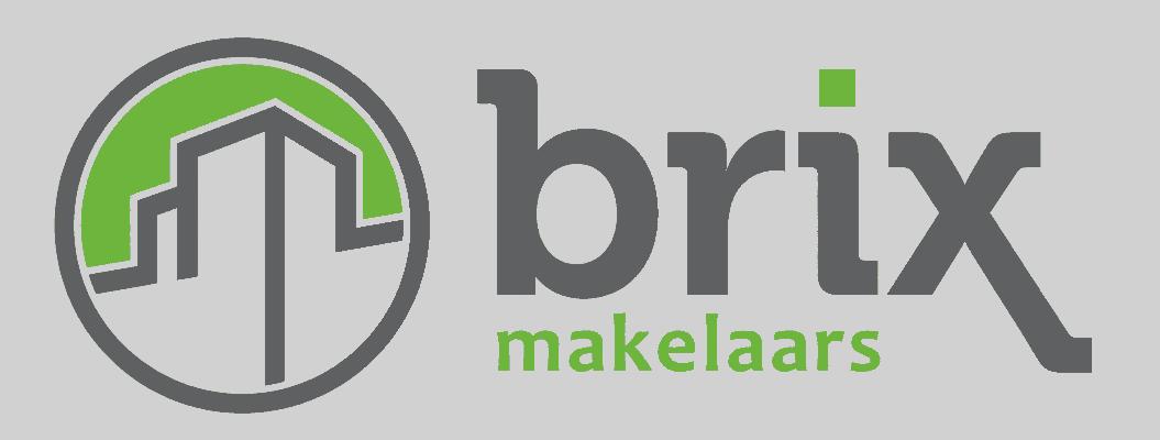 Afbeelding van het logo ontwerp t.b.v. Brix Makelaars te Voorburg. gonzodesign heeft de Huisstijl van deze makelaar ontworpen