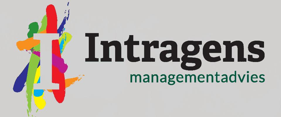 Afbeelding van het logo ontwerp voor Itragens. Tevens heeft gonzodesign het briefpapier ontworpen