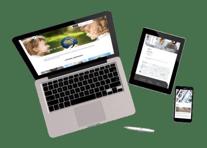 new responsive WordPress theme voor NMFF