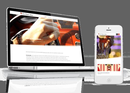 Responsive WordPress Theme voor Red Pepper Gang